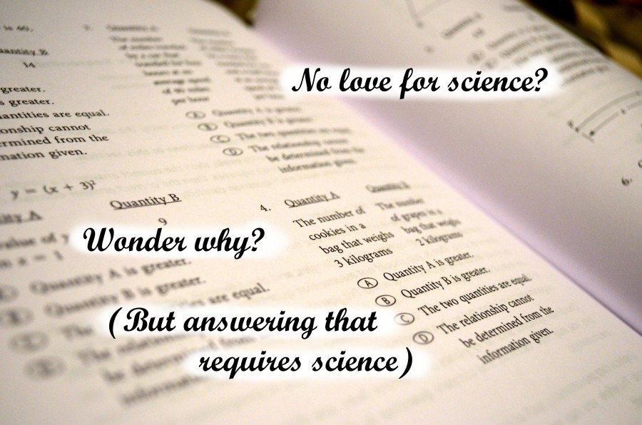 Why lack of science literacy?